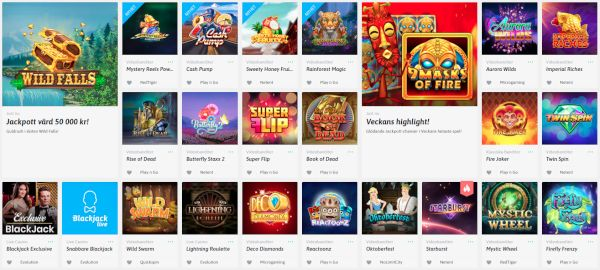 Snabbare Casino games