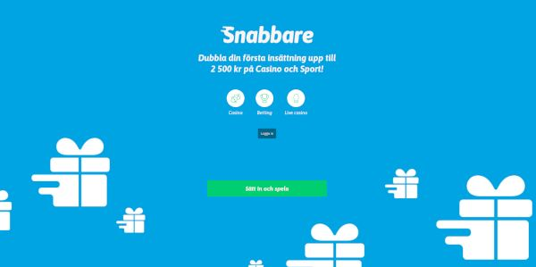 Snabbare home page
