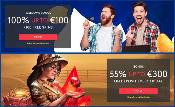 EUSlot bonusar