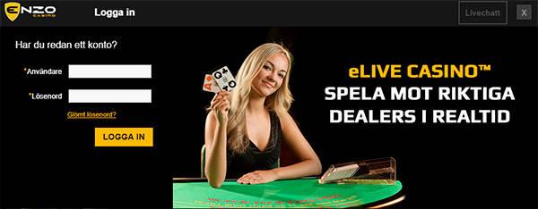 Enzo Casino registration