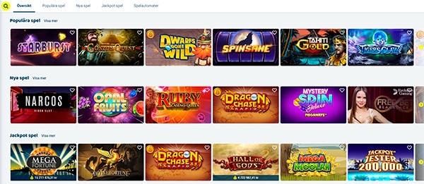 Svenplay Casino Slots