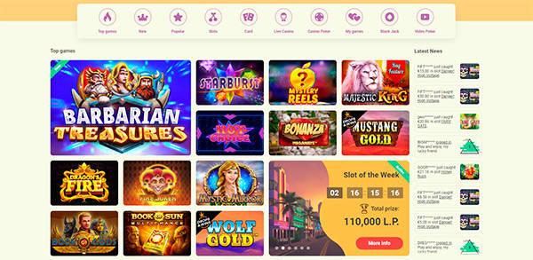 YoYo Casino spel