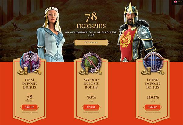 Bonusar & Kampanjer hos Avalon78