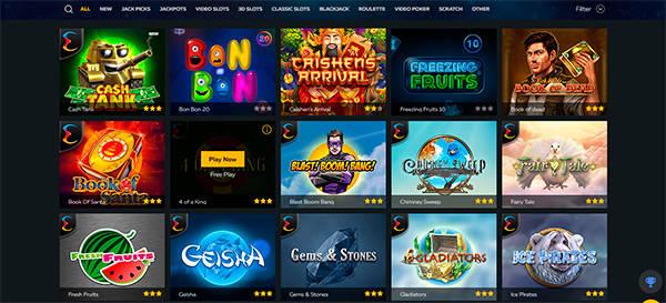 FortuneJack Casino slots