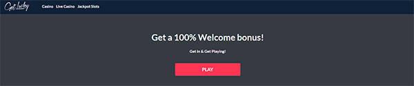 Bonusar & Kampanjer hos GetLucky Casino