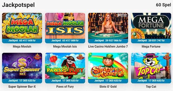 LeoVegas jackpotspel