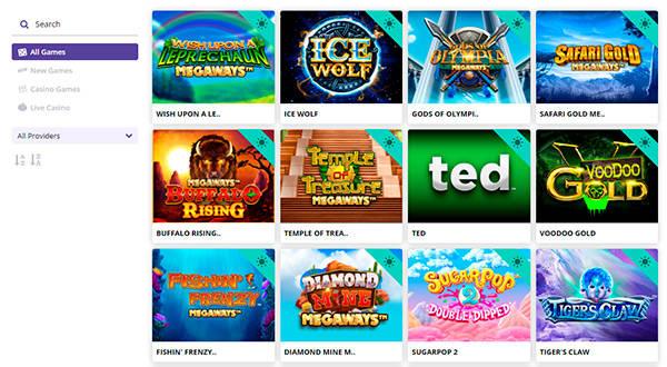 Sugar Casino slots