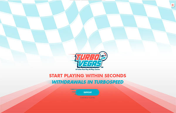 TurboVegas home page