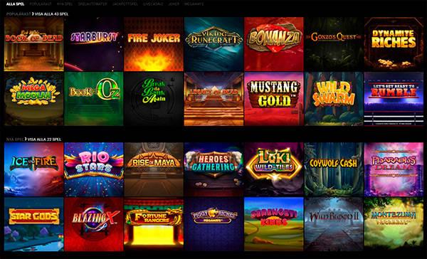 VoodooDreams Casino slots