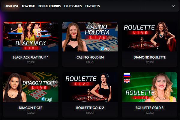 7Bit Casino Live