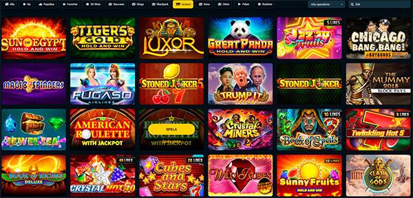 Betwinner slots & jackpottspel