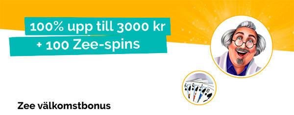 PlayZee Casino bonusar