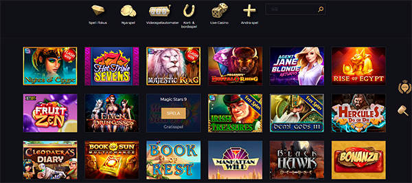 SplitAces Casino slots