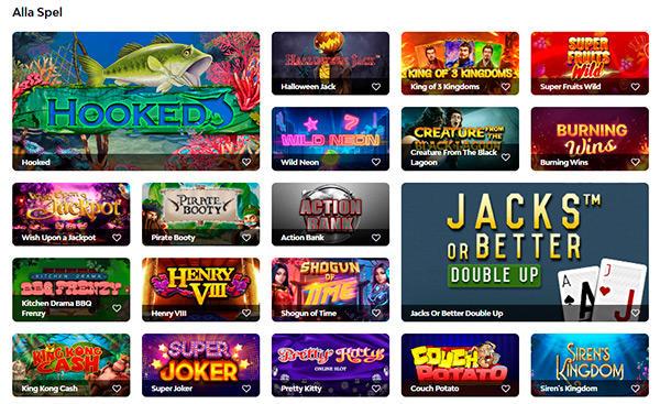 Rapidi Casino slots