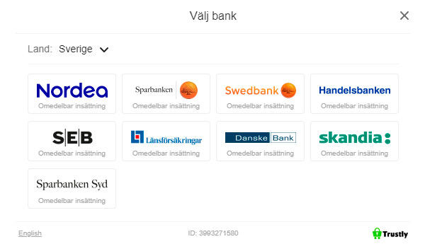 Logga in kontolöst med BankID
