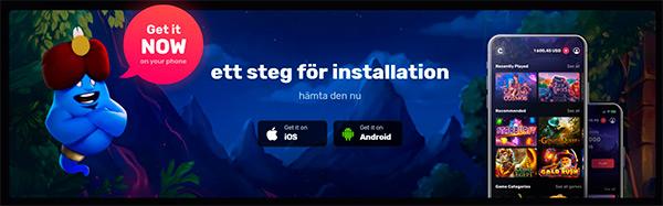 Casinomia app