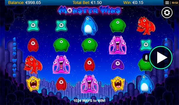 Monster Wins från NextGen Gaming