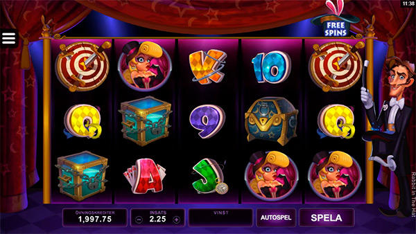 Rabbit in the Hat från Microgaming