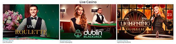 Pronto Live Casino