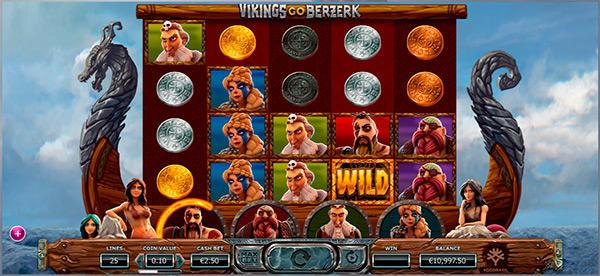 Vikings Go Berzerk från Yggdrasil