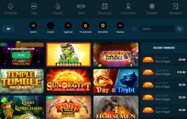 Bilucky Casino Spelautomater & Spelutvecklare