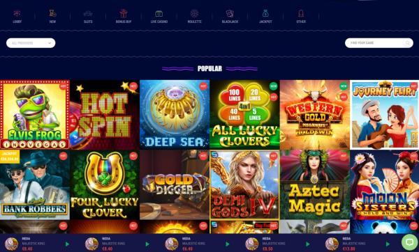 Limewin Casino Spelautomater & Spelutvecklare