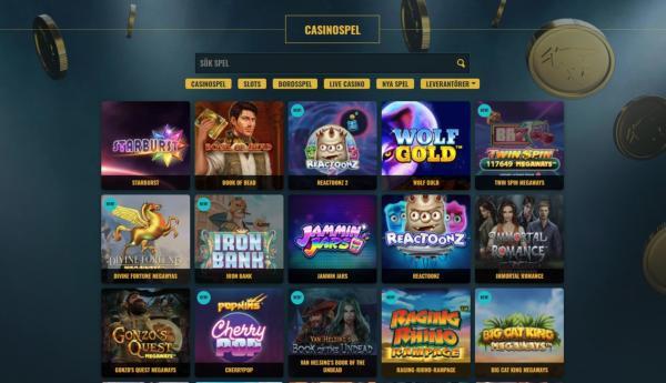 NoAccountBet Casino Spelautomater & Spelutvecklare