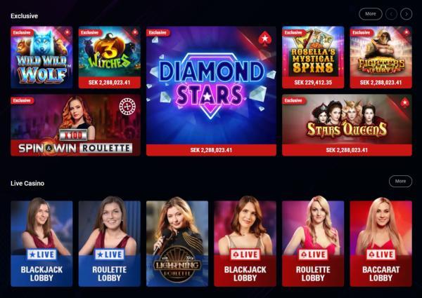PokerStars Casino Spelautomater & Spelutvecklare