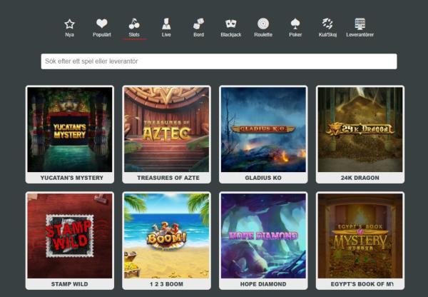 SpinStation X Casino Spelautomater & Spelutvecklare