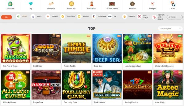 Supraplay Casino Spelautomater & Spelutvecklare