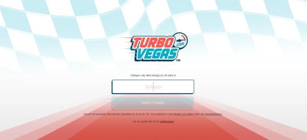 Registrerar man sig på TurboVegas Casino