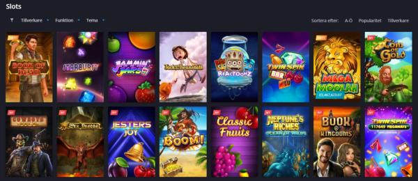 Twin Casino Spelautomater & Spelutvecklare
