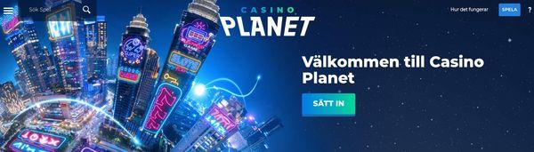 Casino Planet Välkomstbonus
